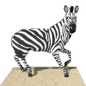Great Brick Safari - Zebra