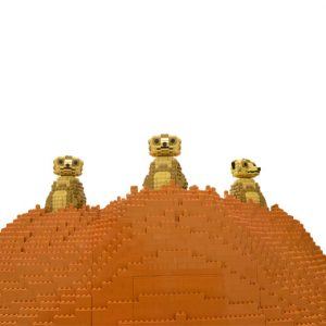 Great Brick Safari - Meerkats