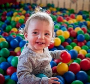 Indoor soft play for toddlers