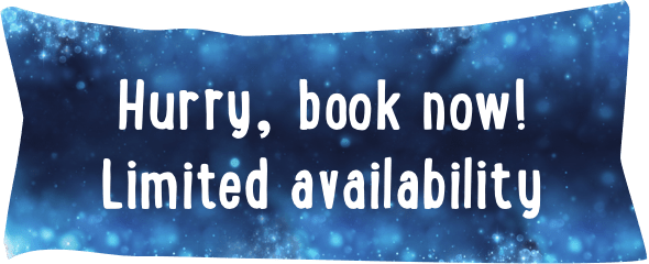 Hurry, book now!